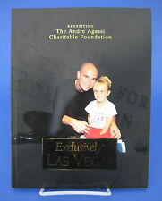 Andre Agassi Charitable Foundation Exclusively Las Vegas Companies Leaders Book