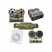 FERROGRAPH REEL TO REEL TAPE RECORDER USER SERVICE MANUALS on CD
