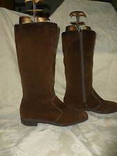 LADIES  K VTG SNOW MAIDS  REAL SHEEPSKIN BOOTS UK 6 BRITISH MADE