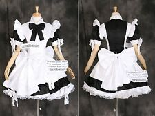 a-024 GOTHIC LOLITA MAID Classic Uniform Cosplay Kostüm Kleid costume dress Maß