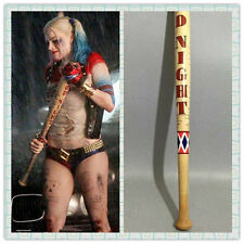 """Christmas Cosplay Full Size 34"""" Harley Quinn Suicide Squad Wooden Baseball bat"""