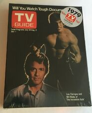 NEW Sealed 1979 TV Guide Classic Reissue THE INCREDIBLE HULK with Lou Ferrigno