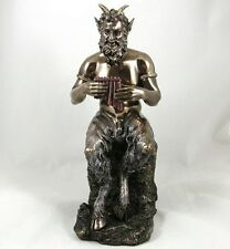 PAN Pagan God Statue | Cloven Hoofed Naked Satyr Greek Mythology Figurine NEW IN