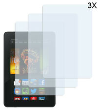3 x Amazon Kindle Fire HD 7 (2013) Klar Clear Schutzfolie Displayschutzfolie