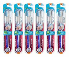 New! 6Pack Colgate Slim Ultra Soft Gliding Tip Toothbrush 17x slimmer at the tip
