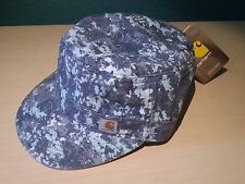Carhartt Womens Hendrie Military Camo Hat Interior Pocket Ponytail Compatible