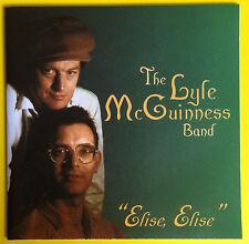 The Lyle McGuinness Band Elise Elise CD NEW 1997 Blues Band Tom/Graham