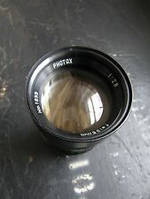 PHOTAX 135mm f2.8 M42 primo LENS FITS CANON NIKON PENTAX SONY GRATIS UK POST