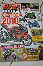 MOTO JOURNAL N°1861 DUCATI 1098 STREETFIGHTER S MONSTER 696 HONDA CB 1000 R '09