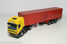 TEKNO BASED DAF 75 SPACE CAB SA-TRANS TRUCK WITH CONTAINER TRAILER