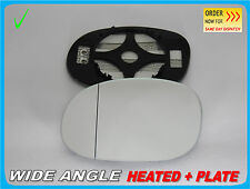 Wing Mirror Glass CITROEN C3 2002-2010 Wide Angle HEATED Left Side #N012