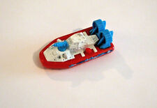 Matchbox Hovercraft with Water Cannon, Red and Blue Rescue Type