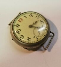 Vintage Favre Leuba 1910s Millitary Trench Watch Parts Repair