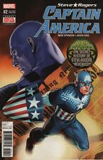 Captain America Steve Rogers #2 Saiz 2nd Print Comic Book 2016 - Marvel