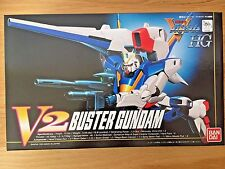 HG 1/100 V2 Buster Gundam Prototype Variable Form V Gundam Series #7 Bandai
