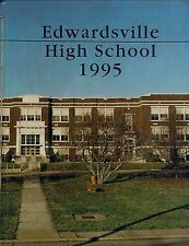 Edwardsville, IL High School Tiger Power 1995 Yearbook Unmarked
