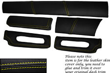YELLOW STITCH FITS  LOTUS ELISE EXIGE S1 96-01 FIVE PIECE DASH KIT  COVERS ONLY
