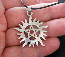 Superbe Collier Pendentif Pentagram *Supernatural* Bijoux Fashion Movie #1093