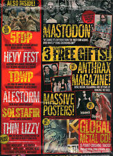 NEW! METAL HAMMER 223 October 2011 MASTODON + SLIPKNOT POSTER + ANTHRAX MAG + CD