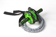 1 Pair Latex Fitness Exercise Stretch Pull Ropes Abdominal Wheel Accessories