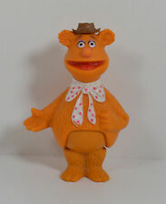 """Vintage 1978 Fozzie Bear 4"""" Action Figure The Muppets"""