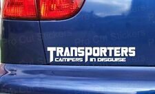 200mm (20cm) Transporters Campers in Disguise Sticker Decal For VW VAN T2 T4 T5