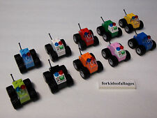 10 Lego Race Cars Mini Offroad 4x4 Trucks Birthday Party Favors Stocking Stuffer