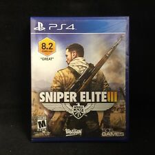 Sniper Elite III 3 (Sony PlayStation 4) Brand New / Region Free