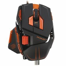 Mad Catz Cyborg MMO M.M.O. 7 Laser Gaming Mouse 6400 dpi for PC Mac RETAIL BOX