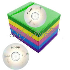 Nice DVD CD Double Sided Cover Storage Case Bag Sleeve Envelope Holder 100Pcs