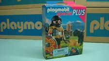 Playmobil 4769 Barbarian with Dog at Campfire NEW Geobra 164