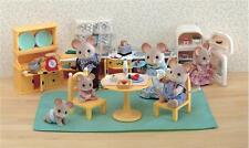 CALICO CRITTERS #CC2257 Kozy Kitchen Set - New Factory Sealed - Sylvanian Famil