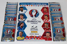 Panini ROAD TO UEFA EURO 2016 France – 50 TÜTEN PACKETS sobres + ALBUM, RARE!