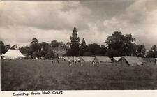 National Association Boys Clubs Camp Camping  Nash Court Nr Tenbury  RP pc