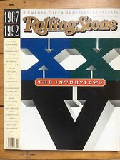 Rolling Stone #641 25th Anniversary Interviews Issue. Classic interviews 1967-92