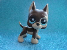 100% ORIGINAL Littlest Pet Shop DOG GREAT DANE 817 Shipping with Polish