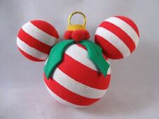 Disney Antenna Topper Christmas Candy Cane Ornament Holly Merry Stripes Ball