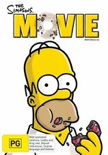THE SIMPSONS MOVIE DVD FAMILY FAVORITE ANIMATION (NEW & SEALED) R4