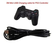 3M 10ft Multi Controller USB Charger Charging Cable Cord For Playstation 3 PS3