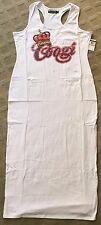 COOGI Womens White Dress With Crown Women Plus Size 3X XXXL Retail $79.99