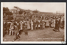Yorkshire Postcard - Parade of Horses, Doncaster Races A5008