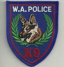 K-9 DHF WESTERN AUSTRALIEN Polizei Hundeführer Police Australia Patch Abzeichen