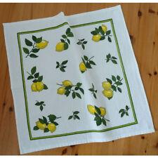 FROTTEE Geschirrtuch Küchentuch Handtuch Küchenhandtuch ZITRONE Baumwolle 50x50
