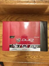 NEW WILSON STAFF DUO SPIN GOLF BALLS, 4 DOZEN IN 2 BALL PACKS