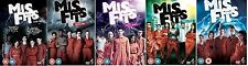 Misfits Complete Channel 4 TV Series All 37 Episodes 12 Disc DVD 1-5 Collection