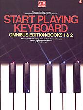 Sfx comienza a tocar teclado Omnibus Edition Aprende a tocar la música de piano Libro
