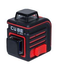 AdirPro Cube 2-360 Cross line Laser level Self leveling Ultimate Package Tripod,