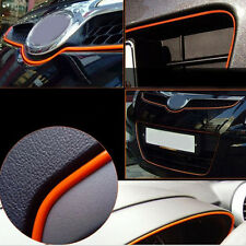 5M Orange AUTO ACCESSORIES CAR Interior Decorative Strip CHROME Shiny Universal