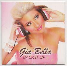 Gia Bella Back it Up & Jump Rare 2 Disc Promo Remixes CD Dave Aude'