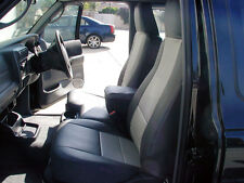 FORD RANGER 2004-2012 IGGEE S.LEATHER CUSTOM FIT SEAT COVER 13COLORS AVAILABLE
